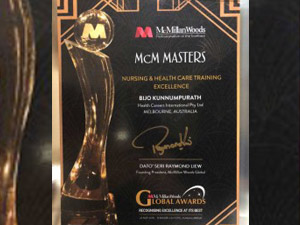 Health Careers International Recognised For Nursing And Healthcare Training Excellence!