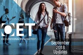 OET September 2018 Updates